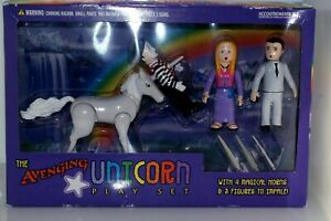 2005 The Avenging Unicorn Play Set Accoutrements New in Box