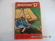 SYSTEME D N°153 09/1958 LIT ARMOIRE PANNEAU DE TETE DE COSY MUR DE CLOTURE   D85