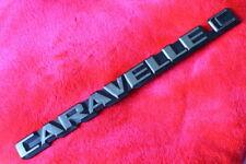 vw T3 : CARAVELLE C Emblem Schriftzug f. Heckklappe Bus Bully -for T25 Tail Gate