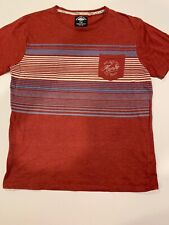 100% Mambo Tshirt. Vintage. Size Large. Stripes