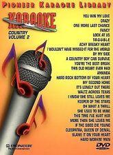 Karaoke  25 Song Karaoke Library Countr DVD