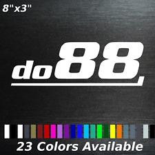 Do88 Decal sticker aftermarket volvo saab