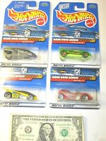 Game Over Series Complete Series Set Hot Wheels Die Cast Cars - Lot of 4
