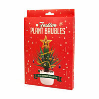 Christmas Festive Plant Baubles Fun Novelty Secret Santa Party Gift Present