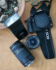 Canon Rebel XTi DSLR Camera with EF-S 18-55mm f/3.5-5.6 Lens - Black