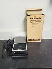 Panasonic Portable Cassette Tape Recorder Slimline RQ-2739 New In Box
