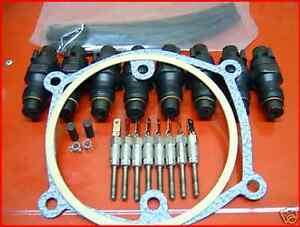 6.2L Diesel Tune-Up Kit (Injectors, Glow Plugs Installation kit) 82 - 88