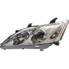 For ES350 07-09, CAPA Driver Side Headlight, Clear Lens