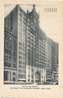 NEW YORK CITY – Hotel Salisbury - 1957