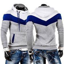 Men's Winter Hoodie Warm Hooded Sweatshirt Warm Coat Jacket Outwear Sweater Tops