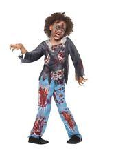 Zombie Costume Enfant, Halloween Enfant Déguisement, M Âge 7-9