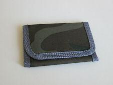 NEW Dark camouflage material brown beige wallet 11x7cm boys accessories