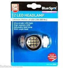 12 LED head light Helmet Light Flashlight. Work Hiking Camping Fishing Torch