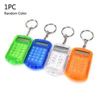 Keychain Pocket Mini Calculator School Office Company Calculator Accounting Kit
