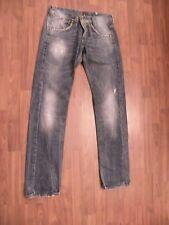 ** Sexy V King Jeans ** Size 32 ** Strass ** Used Look **
