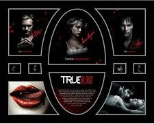 New True Blood Signed Limited Edition Memorabilia Framed