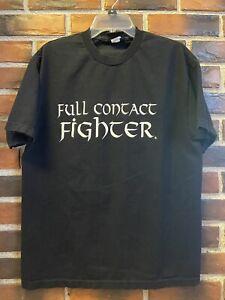 Full Contact Fighter, Old School T-Shirt, Original Design, MMA, UFC, Pride FC