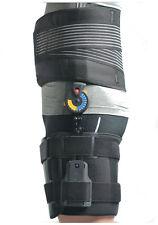Black Adjustable ROM Hip Immobiliser Support Brace Belt One Size Post-op Surgery