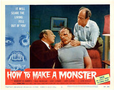 "How to make a monster  Movie Poster Replica 11x14"" Photo Print"