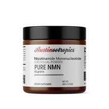 NMN - Nicotinamide Mononucleotide (40 Grams) - Certified 99% PURE Powder