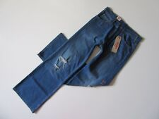 NWT Levi's Vintage Wide Leg Distressed Destroyed Relaxed Rigid Jeans 29 x 33