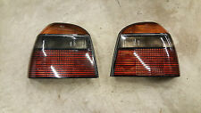 Vw golf MK3 gti 16V abf hayon fumé tail light set X2 hella 1E0945095