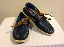 SPERRY TOP-SIDER AUTHENTIC NAVY BOAT SHOES ~ Men's US Sz 7 Women's 9