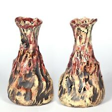 "Skulptur Vase ""Höhle Lascaux"" 15cm v2 Unikat Keramik Andreas Loeschner-Gornau"