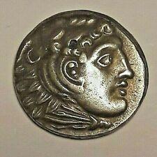 Heracles Zeus  Grecs. T etradrachm of Alexander III Reproduction Replica