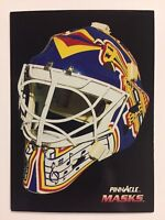 1992-93 CURTIS JOSEPH Pinnacle Canadian MASKS St Louis Blues 264