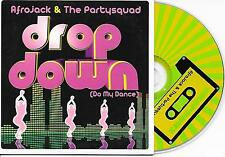 AFROJACK & THE PARTYSQUAD - Drop down CD SINGLE 2TR DUTCH CARDSLEEVE 2008