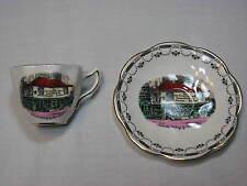 Rosina Charles Dickens Old Curiosity Shop Demitasse tea Cup Saucer Set England
