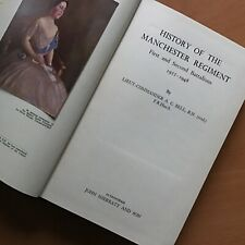 ORIGINAL MILITARY HISTORY BOOK: HISTORY OF THE MANCHESTER REGIMENT, 1922-1948
