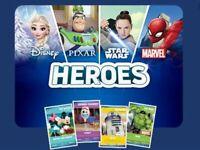 Sainsburys Heroes Cards - Choose Your Card - Disney Pixar Star Wars MARVEL 2019