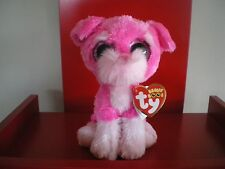 Ty Beanie Boos CHERRY the dog 6 inch NWMT.Claire's Exclusive. New Release.