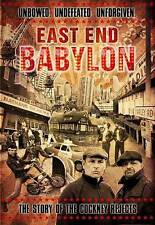 COCKNEY REJECTS East End Babylon DVD Buzzcocks G.B.H. Clash SLF U.K. Subs KBD