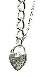 ANTOMUS® Solid 925 Silver British Classic Charm bracelet  C120 S