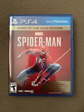 Spider-Man (PS4, Game of the Year Edition) DLC INCLUDED (DLC not redeemed)