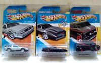 Hot Wheels A TEAM VAN COCHE FANTÁSTICO KNIGHT RIDER K.I.T.T FUTURE TIME MACHINE