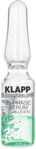 (432,67 EUR/100 ml) Klapp - Bi-Phase Serum + Collagen 3x1ml Ampullen
