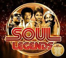 SOUL LEGENDS 3 CD SET VARIOUS ARTISTS (Released October 26th 2018)