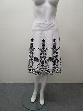PAUW AMSTERDAM Beautiful Bead Embellished Floral Skirt Size 0