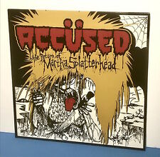 "THE ACCUSED ""THE RETURN OF MARTHA SPLATTERHEAD"" LP , vinyl record album 12"", new"