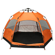 Waterproof Automatic 5-6 People Outdoor Instant Popup Tent Camping Hiking Camp
