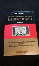 Papiergeld-Spezialkatalog Deutschland 1874-1980 Albert Pick Dr. Jens-Uwe Rixen