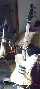 Tokai Firebird - white, two pickup - ace.