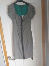 STAR BY JULIEN MACDONALD SWEETHEART NECK HOOK & EYE BLACK SEXY PENCIL DRESS 10
