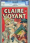 Claire Voyant #3 (Leader Ent 1947) CGC 7.5 (OW) Kamen Cover Vintage Comic picture