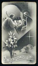 santino-holy card*ediz. NB n.1819 NATIVITA'