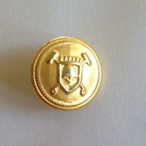 """Ralph Lauren Polo Brass Blazer Button Replacement 5/8"""" Cuff 2 Part Design"""
